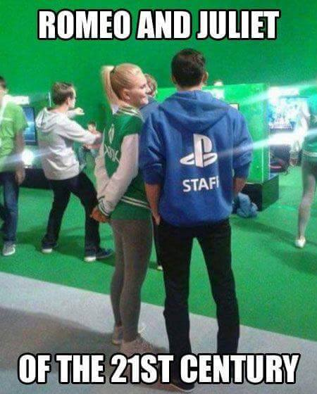 They were there last E3... Do you think they&#39;ll show up with a child this year? #gaming #e3<br>http://pic.twitter.com/jWoMWjrrNA