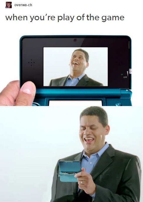 Reggie gets play of the game with the weirdest characters... #gaming <br>http://pic.twitter.com/yOF6TYQIJN