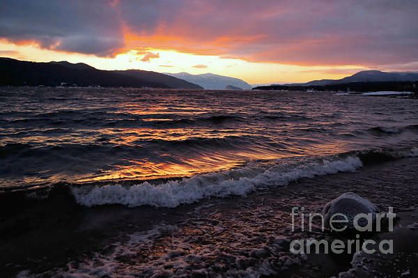The Light, The Waves, And The Snow Clouds by Victor K #Moody #landscape #quietness #romantic #winter #sunest   http:// buff.ly/2rbtaSS  &nbsp;  <br>http://pic.twitter.com/5rK9W8KdXY