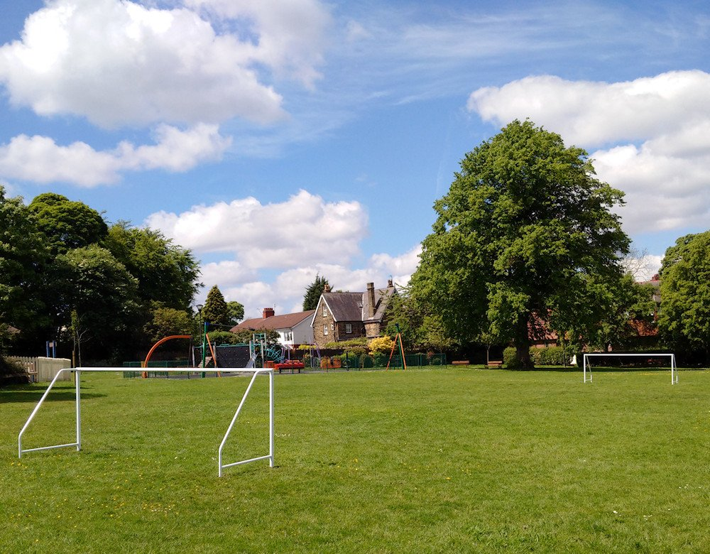 New goalposts in the park