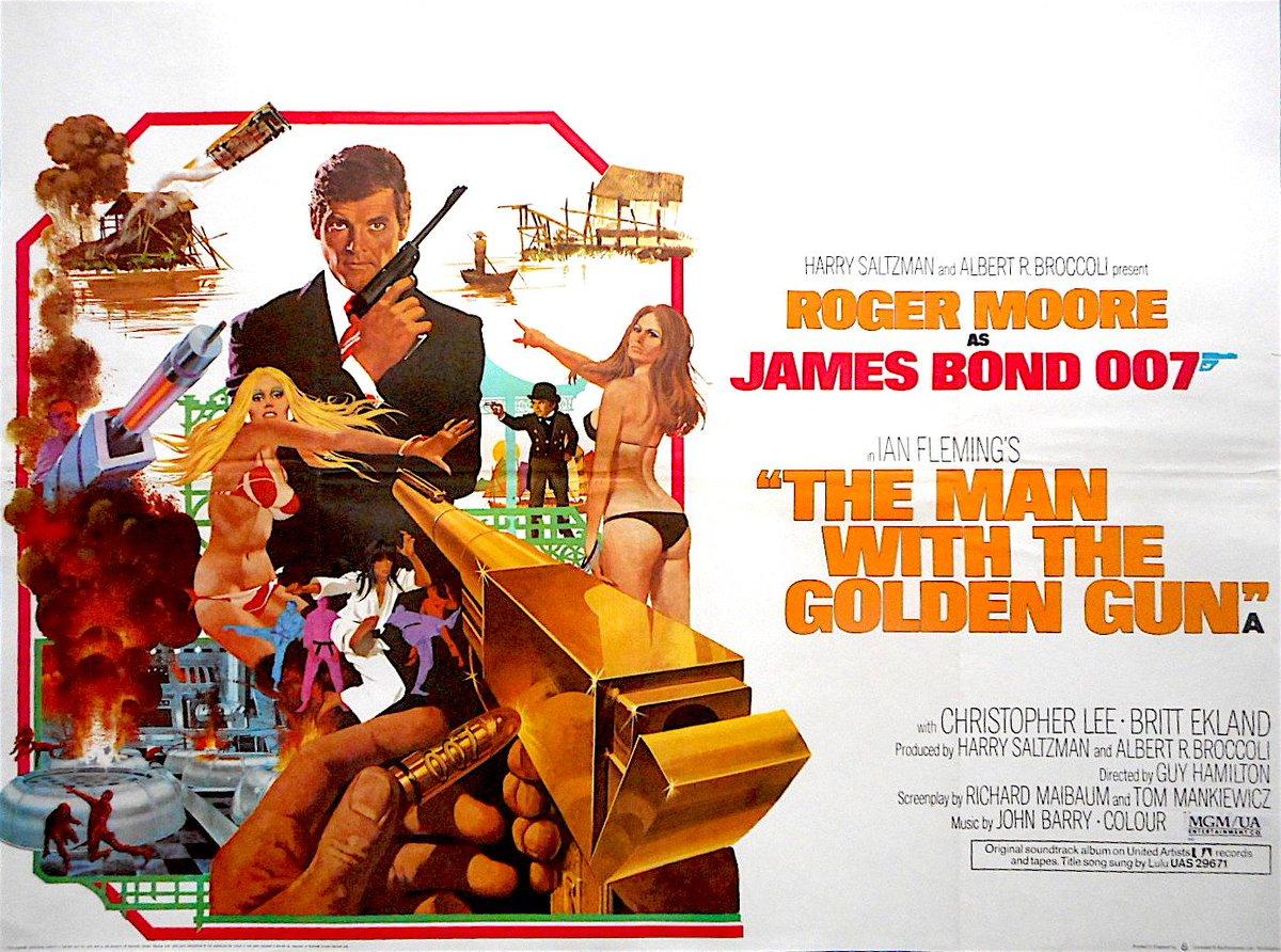 Rare British Quad #MoviePoster F/S: #JamesBond  THE MAN WITH THE GOLDEN GUN Roger Moore Christopher Lee   http://www. ebay.com/itm/-/11238926 5528?roken=cUgayN&amp;soutkn=Sw2Drp &nbsp; … <br>http://pic.twitter.com/Kb3bzl8xSe