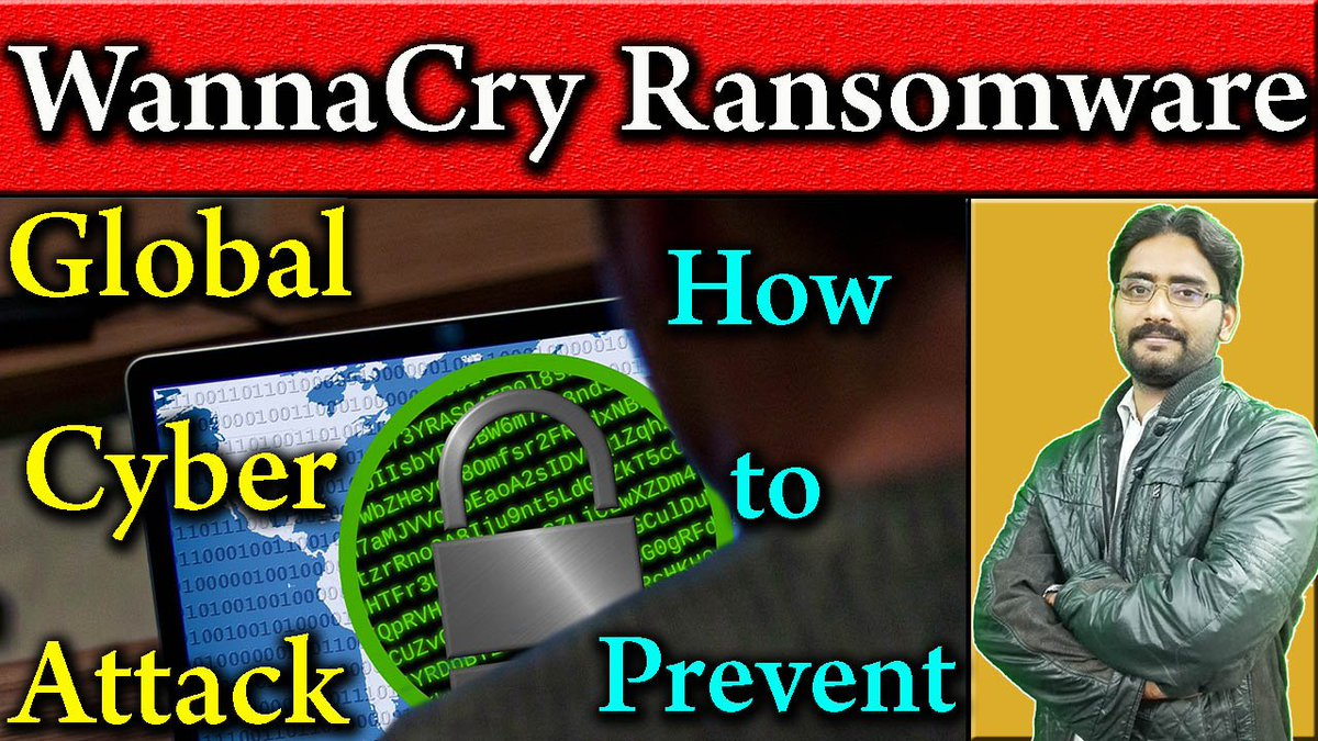 #WannaCry #Ransomware Global #cyber #attacks Detail #Explained |  How To Protect Your Device       :-  https://www. youtube.com/watch?v=x_nCAD UEcyo &nbsp; … <br>http://pic.twitter.com/2ozILV7hHe