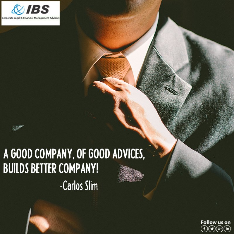 Good advises brings success. Take an advice before you give an advice!  http://www. consultibs.in  &nbsp;   022-28219787 #IBS #India #Advisers #Services<br>http://pic.twitter.com/W4qlD6kzQ7
