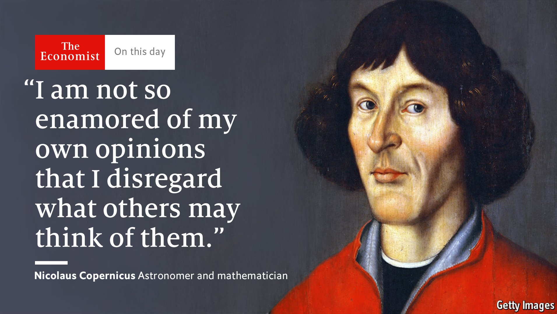 Nicolaus Copernicus died #OnThisDay 1543. His heliocentric model of the universe revolutionised astronomy  https://t.co/A1dQIi3qHt https://t.co/Wf6TAGzd20