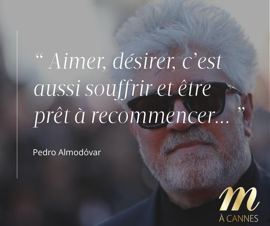 Un petit mot du président du Festival de #Cannes #MadameACannes #citation