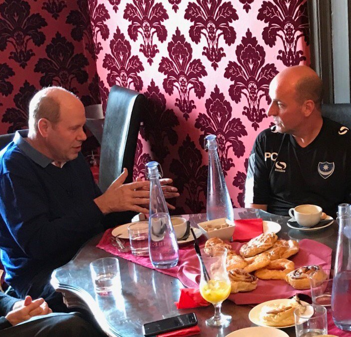 Trying to convince Paul Cook that being named Manager of the Year is w...