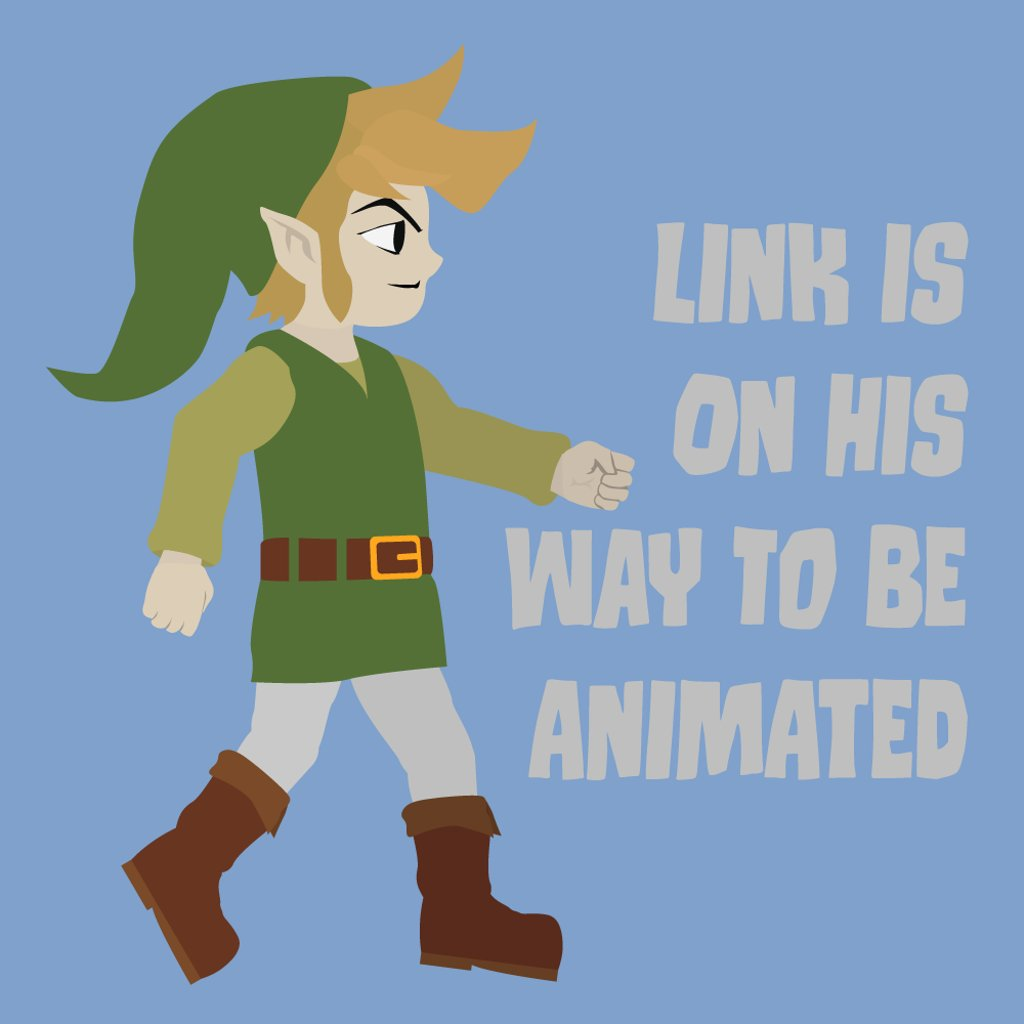 Seeing as I am getting back into twitter I figured I should share my current #LOZ #animation progress. #Link #illustration<br>http://pic.twitter.com/zWjo1CDkyL