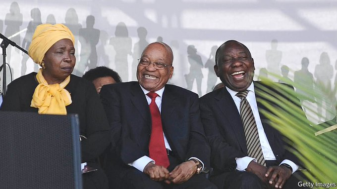 The unthinkable (ANC losing an election) becomes possible as South Africans tire of Pres Zuma's unchecked corruption https://t.co/LBVXNIFBRE