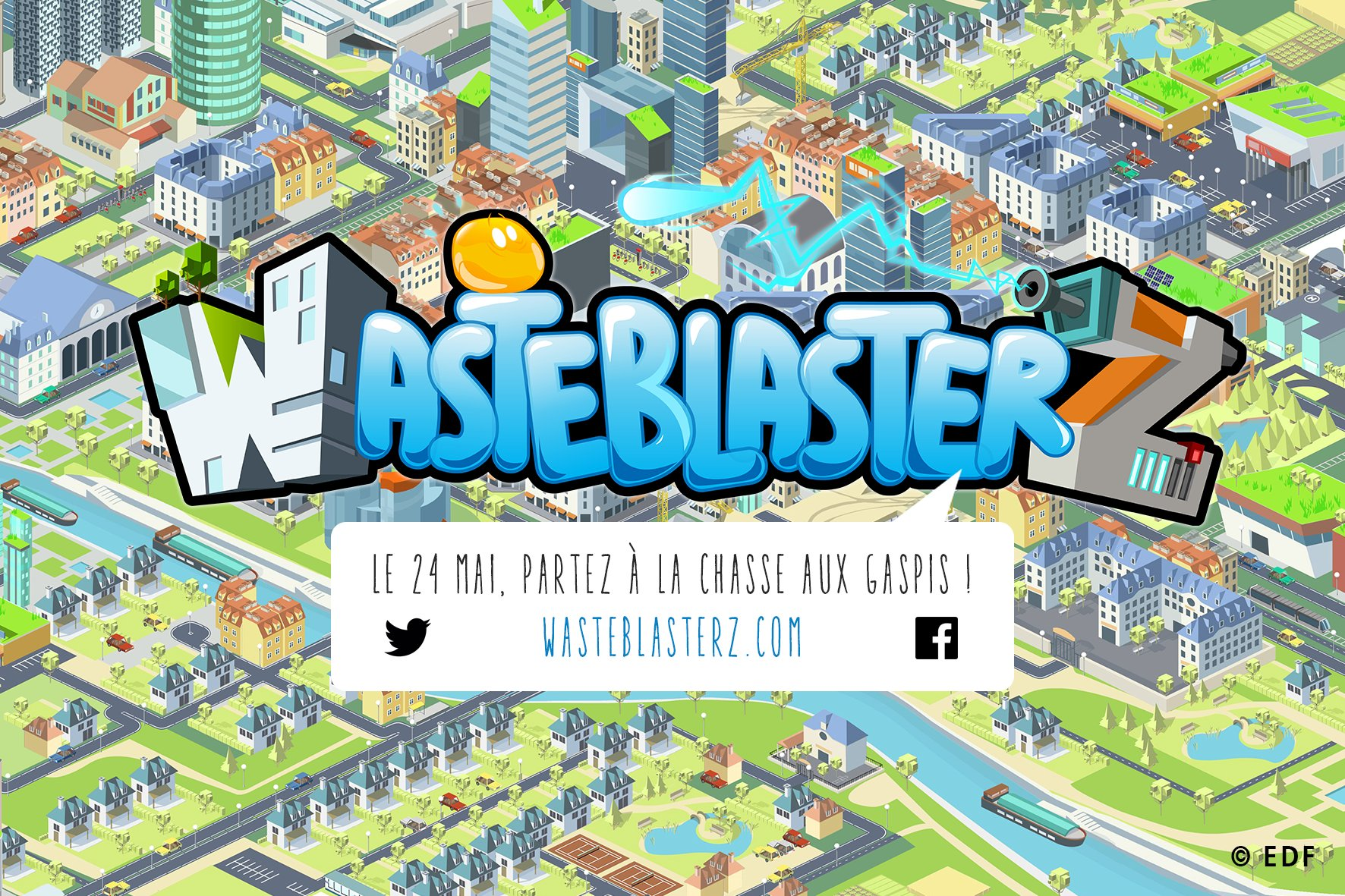 Prenez votre LazeroWatt et chassez les #gaspillages en téléchargeant @Wasteblasterz sur @AppStore https://t.co/7mYRFdpNiZ #seriousgame https://t.co/SqXQiGzKlH