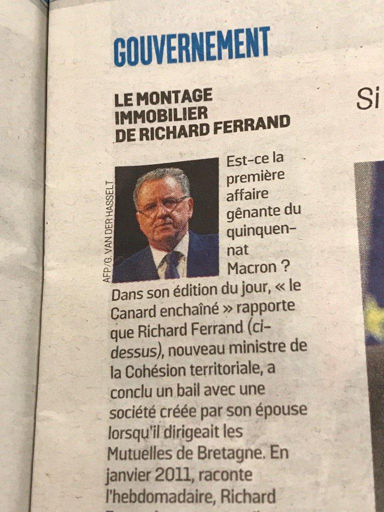 #Le parisien est plus discret qu'avec l'affaire Fillon #leparisienpic.twitter.com/Kl6AmwmWns