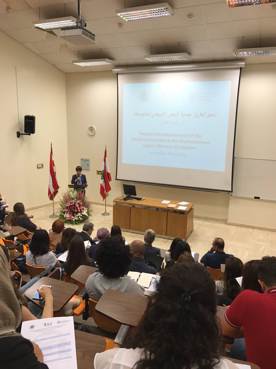 #NORD Co-Director Dr. Hwalla, FAO &amp; MOA Reps. launch &#39;Towards the enhancement of the Med. Diet in the Med. Region:Case of Lebanon &#39;@ghi_aub<br>http://pic.twitter.com/NEUkZXJ3Ql