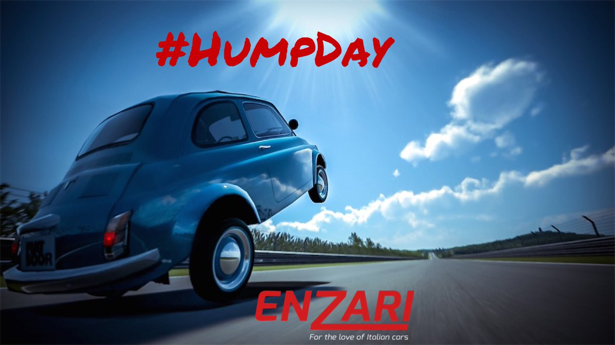 Hope your Wednesdays going well, we&#39;re over the #HumpDay  #cars #enzari #italiancars #follo <br>http://pic.twitter.com/n9kJugX7Lm