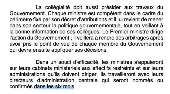 [Point calendrier] 'Spoil system' à la #Macron 'dans les six mois'. (compte rendu du conseil des ministres)