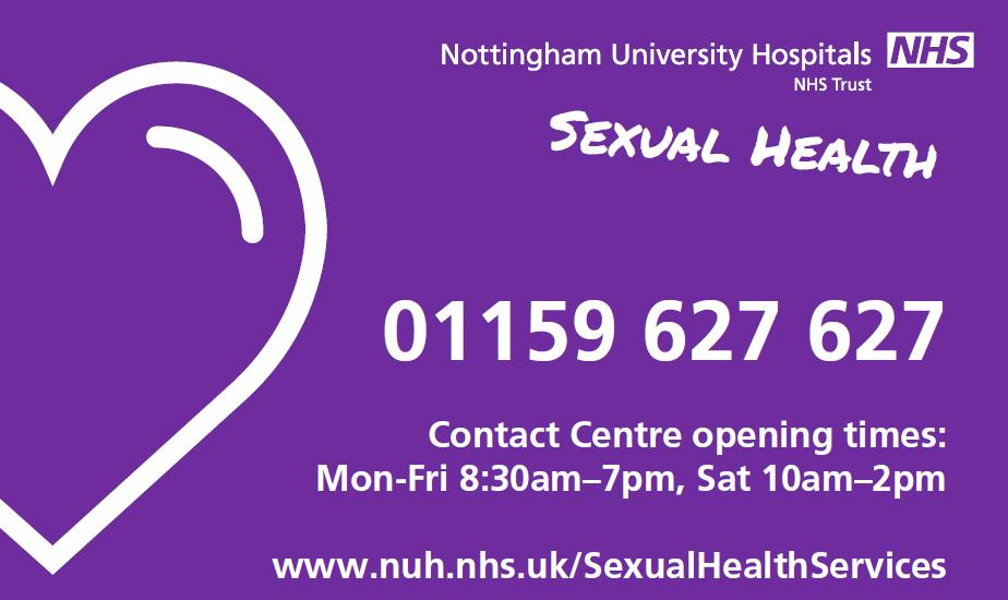 Sexual health clinic nhs nottingham