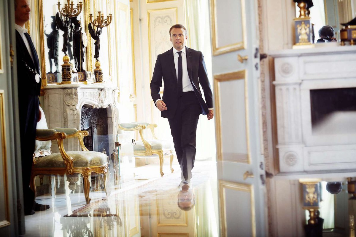 Changer les robinets, refaire la décoration… Avant d'entrer à l'Elysée, Macron a tenu à en améliorer le confort >> https://t.co/MtWO8kIAA0