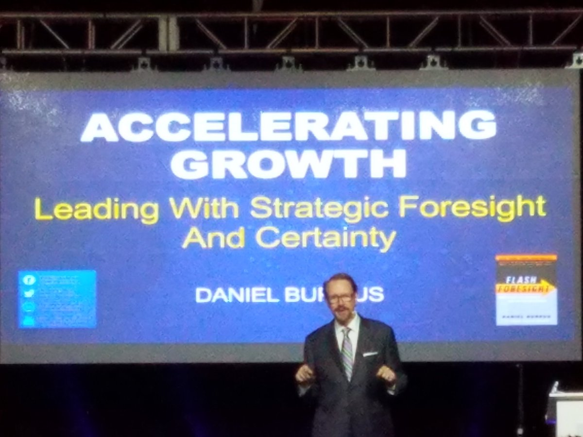 Listening to @DanielBurrus #keynote at @CohnReznick Owners Meeting - #leading with #strategic  #foresight  and #certainty  - #futurist<br>http://pic.twitter.com/XSlCTIg5c4