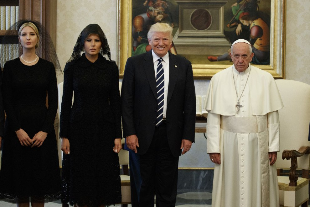 Trump met Pope Francis for the first time https://t.co/683PGYQwRi