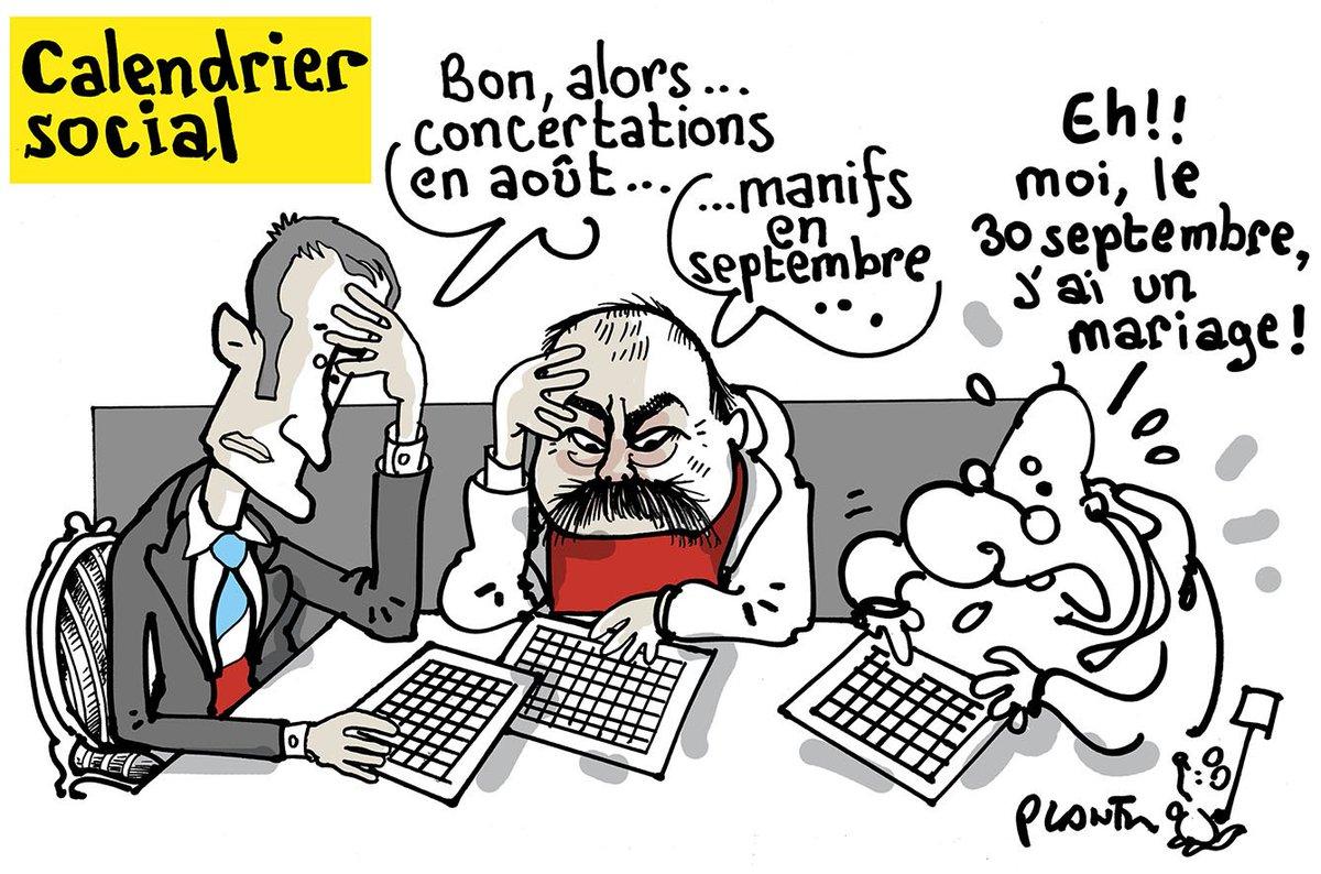 CALENDRIER SOCIAL. Le dessin du Monde de ce mercredi 24 mai.
