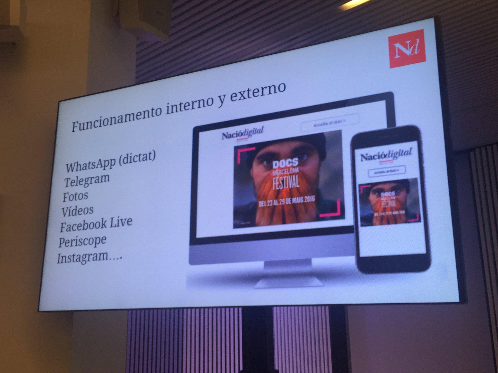 Estas son las herramientas móviles imprescindibles en @naciodigital y que nos está contando @kpeiro en #MoJoBCN. https://t.co/NEAMITJWRA
