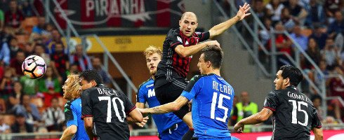 Games of the Season: Week 7 saw #ACMilan come back from 3-1 down to beat #Sassuolo 4-3.  http://www. football-italia.net/103053/games-s eason-milan-4-3-sassuolo &nbsp; … <br>http://pic.twitter.com/h0MktwdsYt