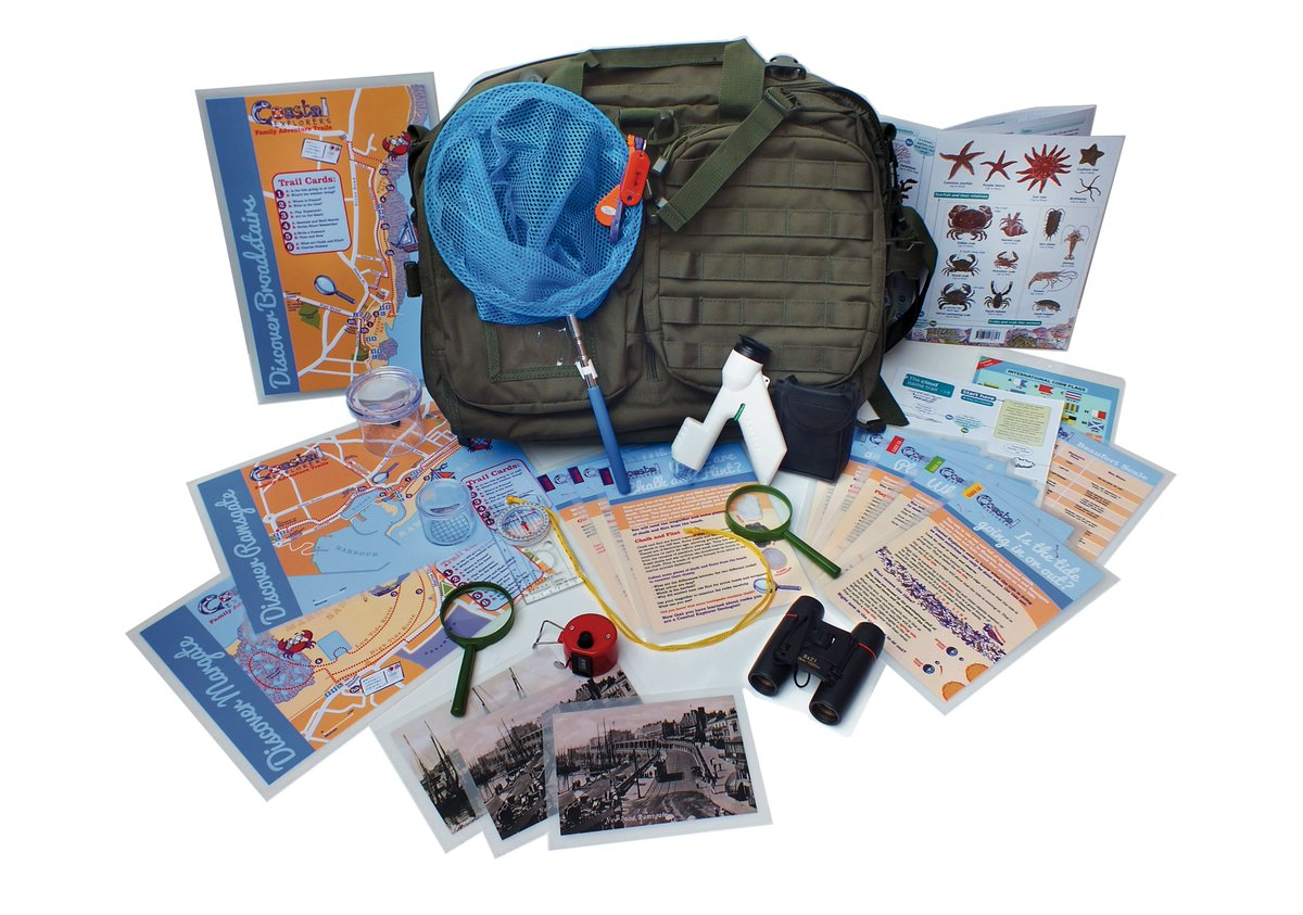 BRAND NEW! Hire a #CoastalExplorers family pack to use on the beaches from this Fri for just £5. Info &gt;  http://www. visitthanet.co.uk/coastalexplore rs &nbsp; …  #BankHoliday <br>http://pic.twitter.com/HhVHujhWjm