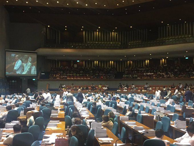 Period of interpellation para sa House bill 5636 o tax reform package, nagsisimula na. | via @jmesantos https://t.co/ANlDYB2pBa