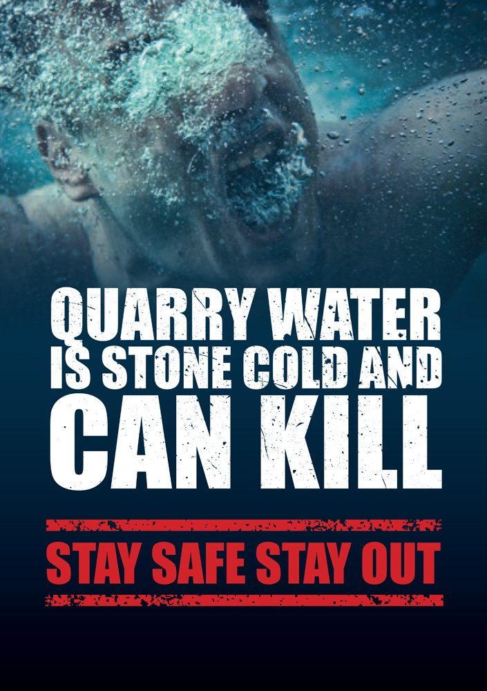 Stay Safe this #BankHoliday &amp; avoid #quarry hazards:       http:// tinyurl.com/kfta64b  &nbsp;   #Drowningprevention will #savelives.<br>http://pic.twitter.com/17Z3K91zOU