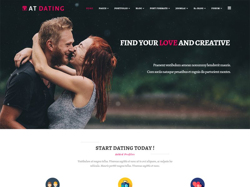 Joomla dating templates