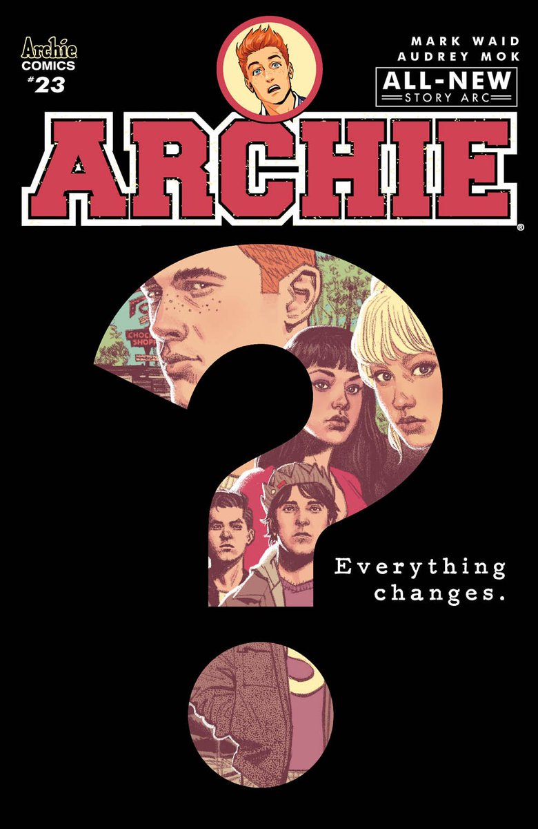 Everything changes for the #Riverdale gang after OVER THE EDGE as artist Audrey Mok joins ARCHIE starting in August.  http:// bit.ly/2rzD28X  &nbsp;  <br>http://pic.twitter.com/tauAJDYkXU