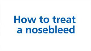 Nosebleeds can be alarming, but they aren't usually a sign of anything serious. Info: https://t.co/NLzB67uGfu