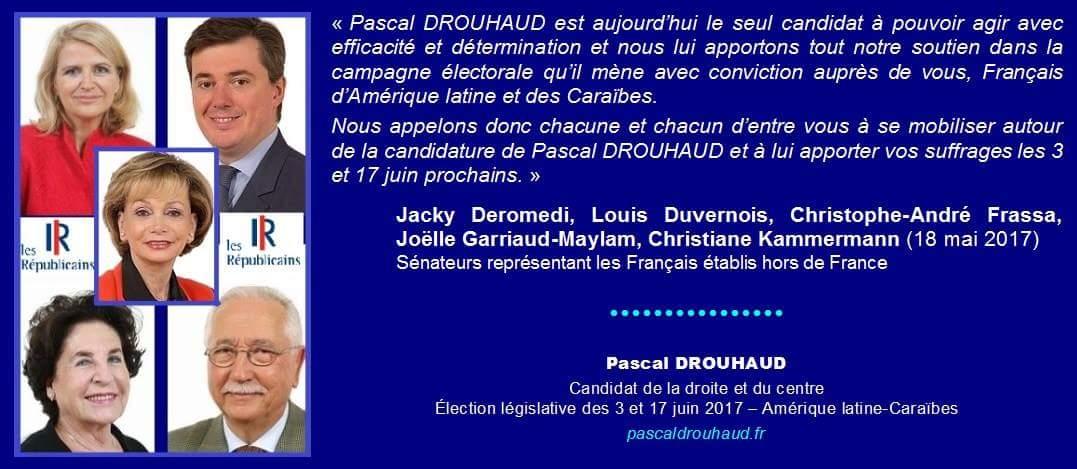 Soutien @PascalDrouhaud #Législatives2017 #ExtCirco02  @MorganeBravo @EuropeMex &amp; #Sénateurs #LR #Françaisdeletranger @C_Frassa #Mexique<br>http://pic.twitter.com/hX0bVCsegu