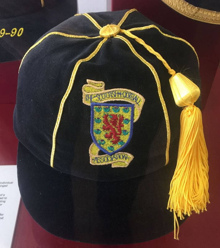 #HeartsScorerForScotland 22y ago #JohnRobertson #Scotland 2 #Ecuador 1 Kirin Cup   http:// londonhearts.com/scotland/games /19950524.html &nbsp; …  Cap on display in the Museum<br>http://pic.twitter.com/C1mderCqaJ