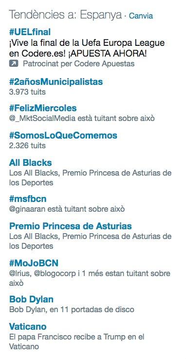 ¡Seguimos siendo #TrendingTopic! Comenta con nosotros sobre periodismo móvil con #MoJoBCN https://t.co/lQlcRtkuUh