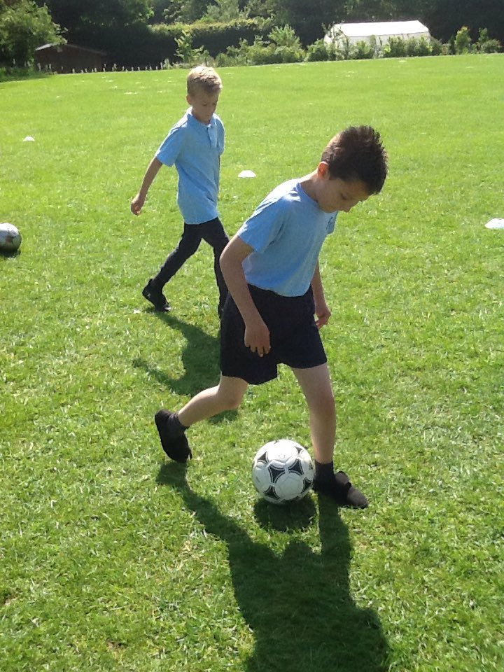 The West Brom Coach was so impressed that he returned to St.Gregory's to work with Year 4 today.