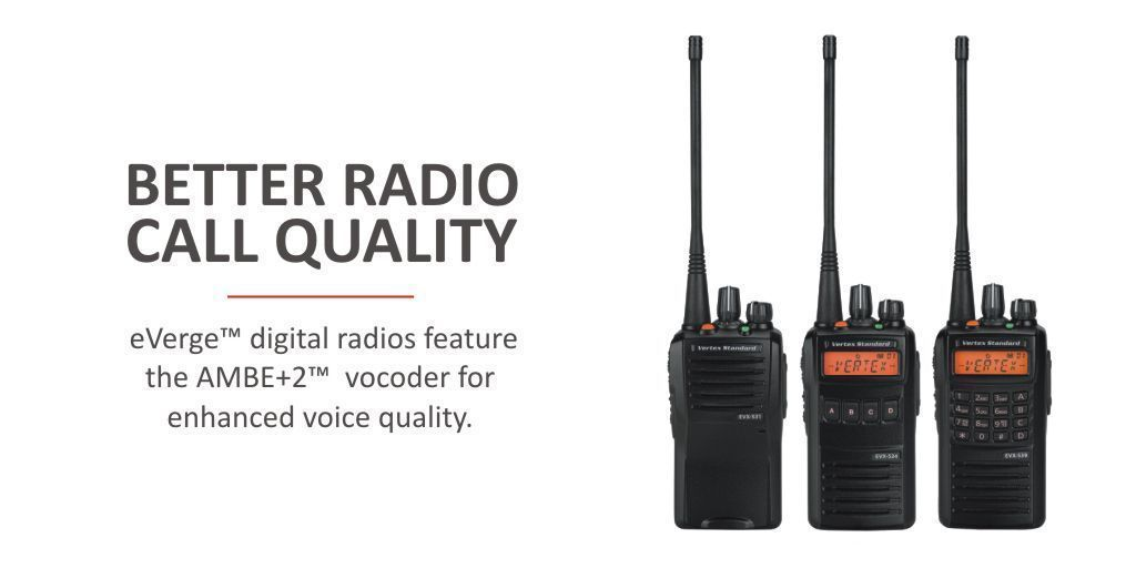 Eliminate noise + static from voice calls with @Vertex_Standard #eVerge EVX530 Series https://t.co/zNMBDQCUhq #overandout