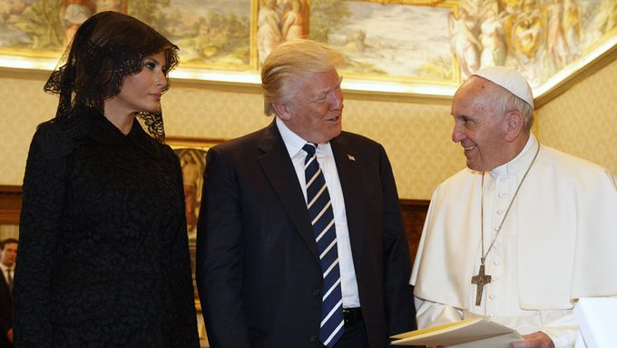 Pope predicts pizza on Trump's menu, and is proven correct https://t.co/NG17B6MpYR