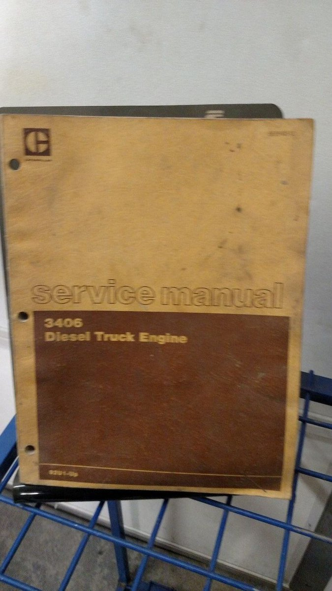 Caterpillar 3406 Engine repair Manual