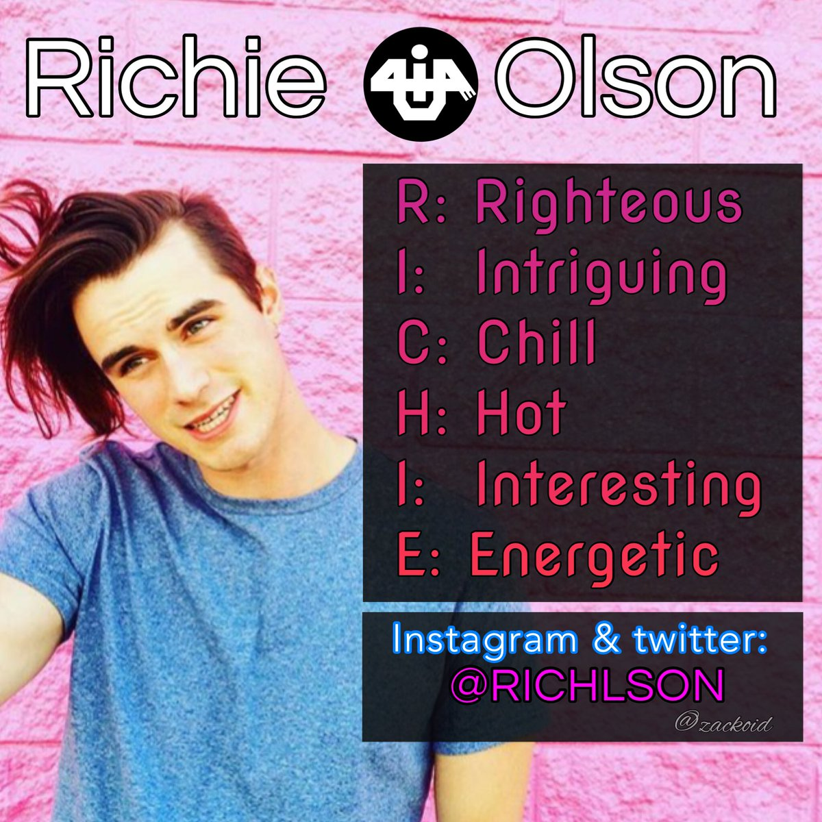 Oh Happy Day! Get to know the guys of •U4iA• Meet Richie Olson   #BestCoverEver  Attention @CharliePuth   http:// bit.ly/U4iAPuth  &nbsp;   -JC<br>http://pic.twitter.com/O8egUFpsxN