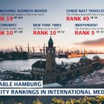 The world loves #Hamburg - #eventprofs check out the latest global city rankings and don't forget to #unpackHamburg https://t.co/aPQb7kDKlD