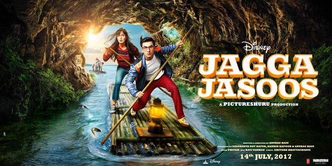 It's official, Jagga Jasoos releasing on the 14th July!! https://t.co/rKhRLL1CWd