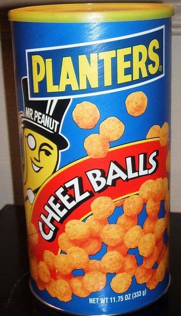 Random thought: please bring back cheese balls!!!!! #planters #chezeballs #amancandream<br>http://pic.twitter.com/v4iTtP8VWr