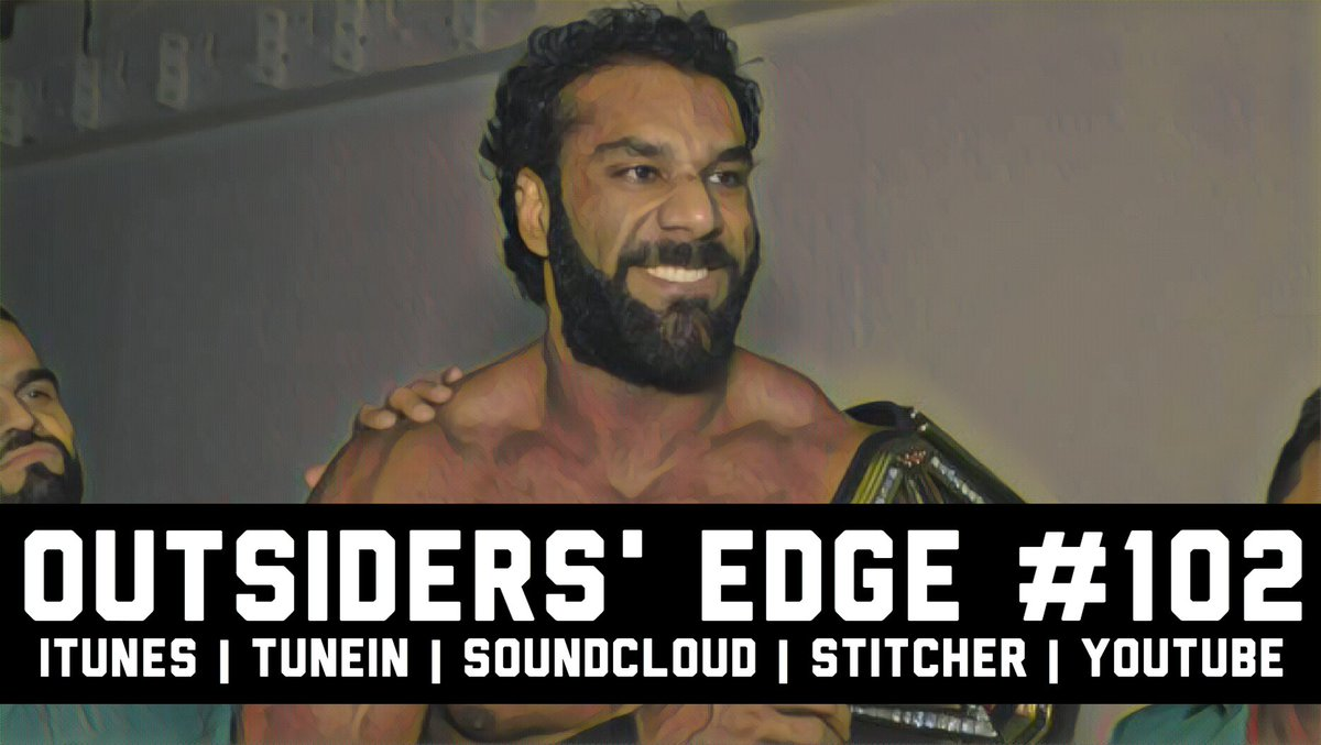 Listen to @OutsiderPodcast Ep. 102 talking #WWEBacklash &amp; the rise of #JinderMahal on #YouTube #iTunes &amp; beyond!  https:// youtu.be/DuHCDO4SnAs  &nbsp;  <br>http://pic.twitter.com/ZB5zkXATnA
