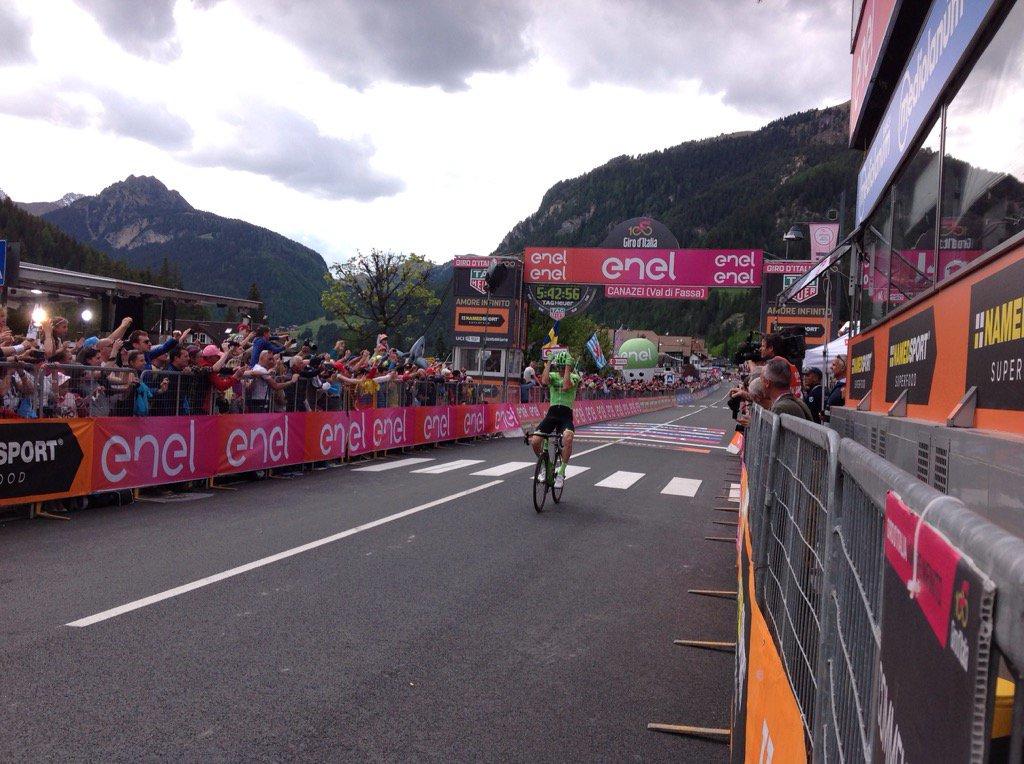 """Giro, Rolland vince in solitaria, Nibali: """"Domani attaccherò per non avere  ... - https://t.co/YGIhA4tLGH #blogsicilianotizie #todaysport"""