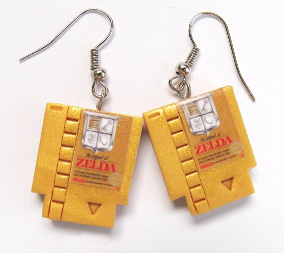 These are earrings and they are LEGENDARY!   http:// bddy.me/2qWTkpE  &nbsp;   #lootwear #zelda #loz #nintendo<br>http://pic.twitter.com/WUzJZwYntp