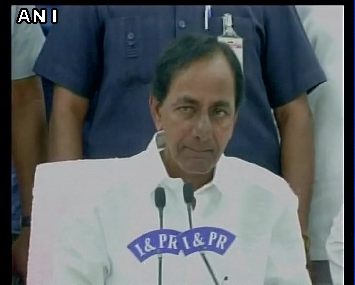Amit Shah spoke of Centre giving additional Rs 20,000 Cr annually to State, I challenge him to show even Rs 200 being given: Telangana CM