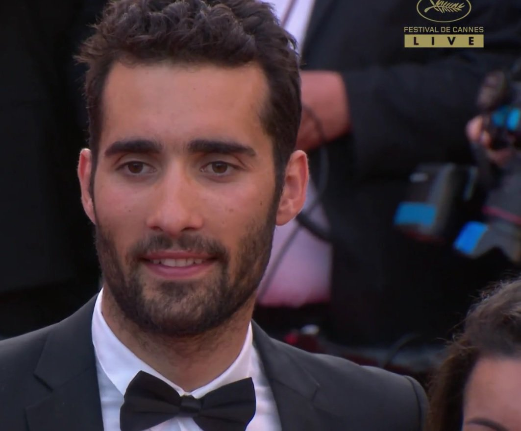 My name is Fourcade...Martin Fourcade ! Live from @Festival_Cannes with #Paris2024 team #MadeForSharing @FlesselLaura @TonyESTANGUET<br>http://pic.twitter.com/EjKFvg6sFc