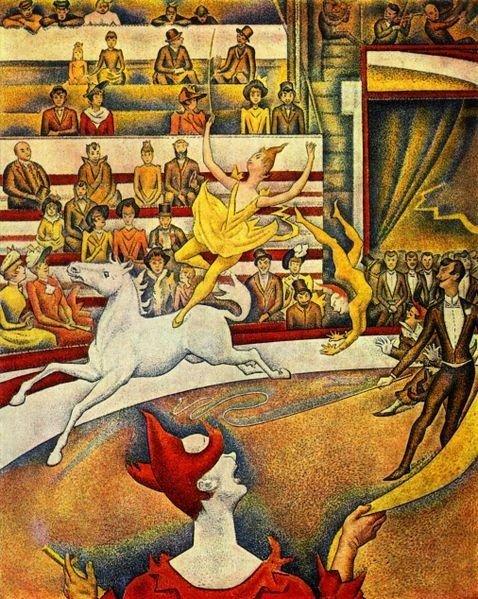 Georges #SEURAT, &quot;THE CIRCUS&quot; 1891 #art #arttwit #twitart #iloveart #AlParadise #circus #artlover #dance #music<br>http://pic.twitter.com/zkwpdKrWkR