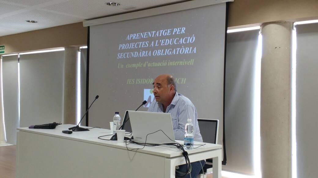 El treball per projectes a secundària a l'IES Isidor Macabich a les jornades #compartimeivissa https://t.co/lHr1KYP3AS