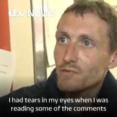 Homeless hero Steve has been offered a job, money and a home since he helped victims of the Manchester attack