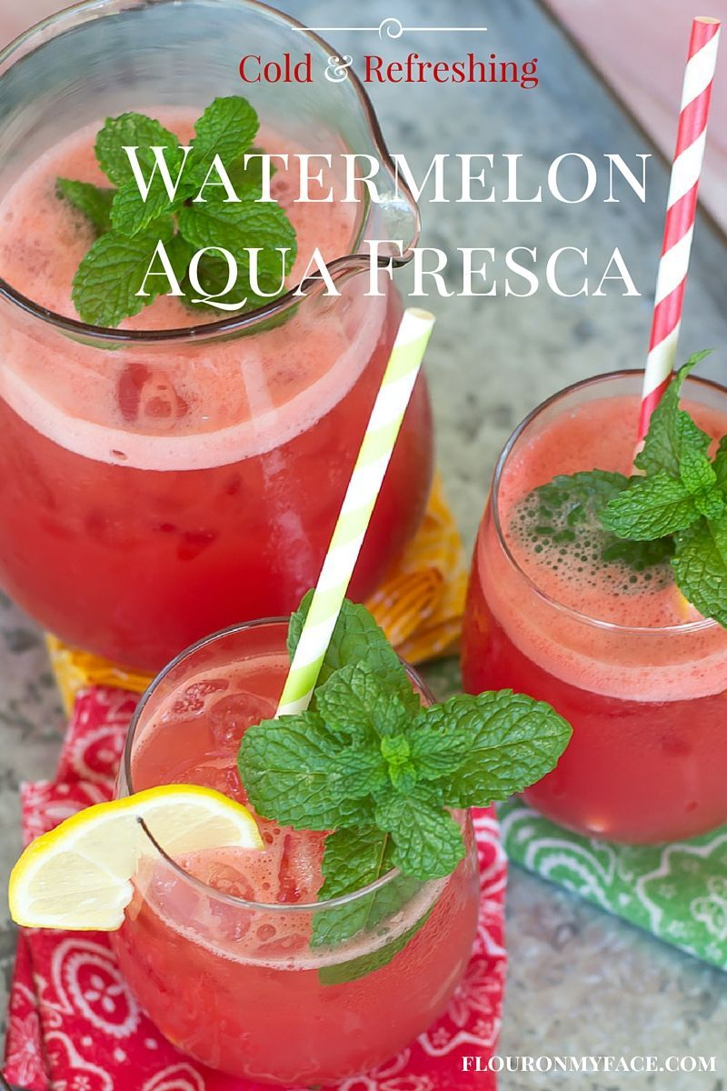 How to Make Watermelon Aqua Fresca https://t.co/fggg4xuiz9 #FreshfromFlorida @MomCentral @freshfromFL https://t.co/uFoTL4lyFw